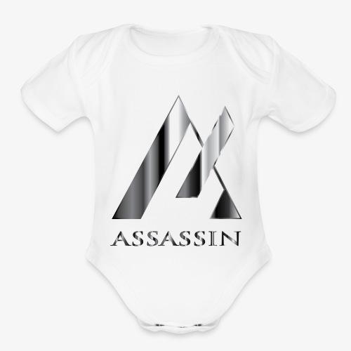Assassin - Organic Short Sleeve Baby Bodysuit