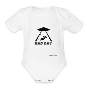 az mal dia estraterestre - Short Sleeve Baby Bodysuit