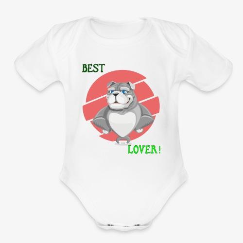 Ultimate Dog Lover! - Organic Short Sleeve Baby Bodysuit