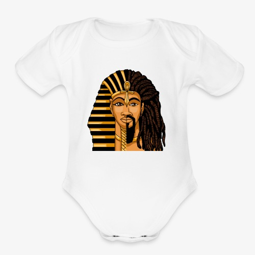 African King DNA - Organic Short Sleeve Baby Bodysuit