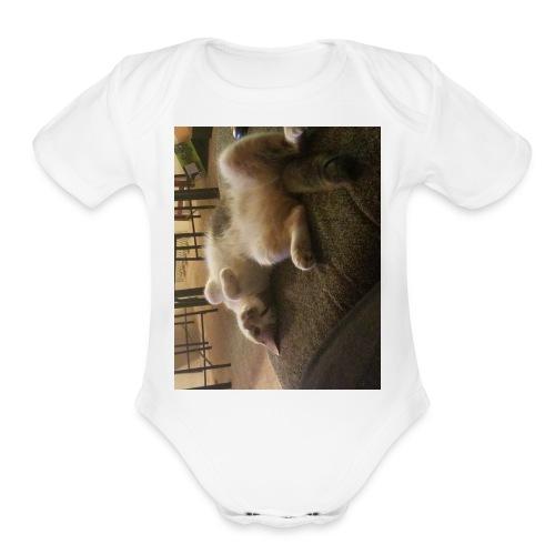 20180104 054850 - Organic Short Sleeve Baby Bodysuit