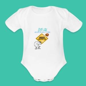 Me on Diet - Short Sleeve Baby Bodysuit