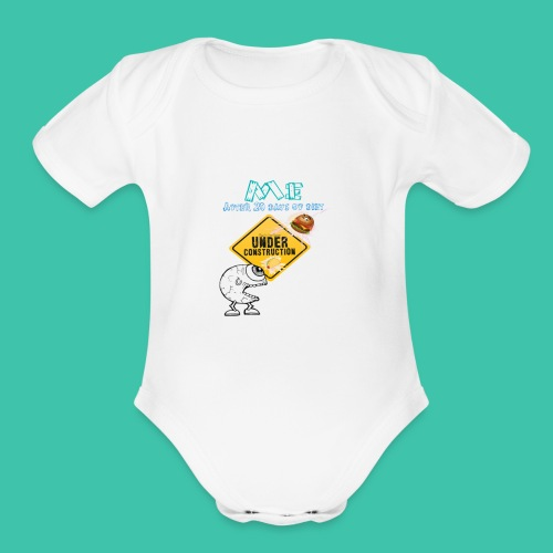 Me on Diet - Organic Short Sleeve Baby Bodysuit