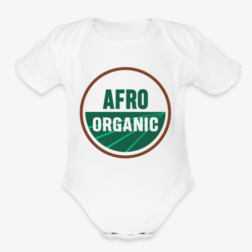 Afro Organic - Organic Short Sleeve Baby Bodysuit