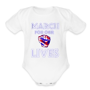 March For Our Lives Shirt - Short Sleeve Baby Bodysuit