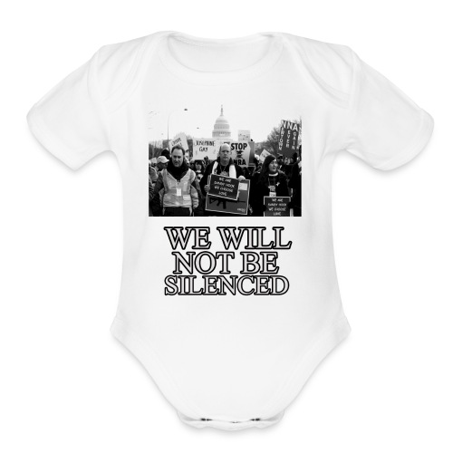 March for our lives - Organic Short Sleeve Baby Bodysuit