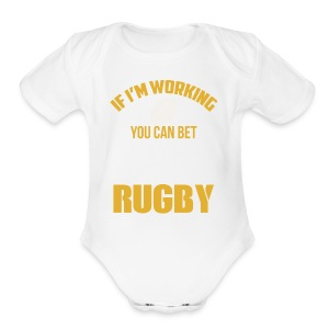 Great Gift Ideas For Rugby Lover. - Short Sleeve Baby Bodysuit