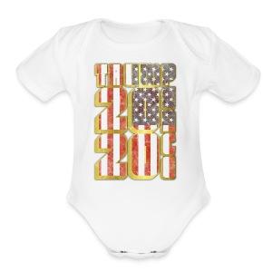 TRUMP PENCE 2020 - Short Sleeve Baby Bodysuit