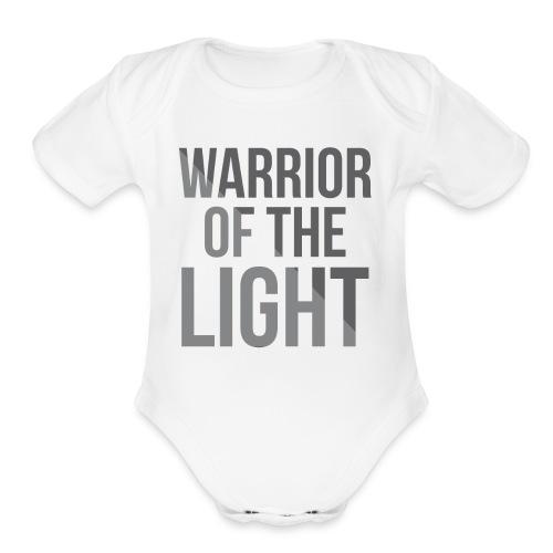 Light Warrior - Organic Short Sleeve Baby Bodysuit