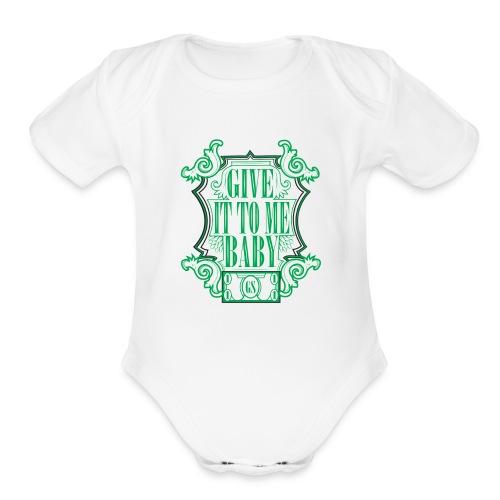 MONEY png - Organic Short Sleeve Baby Bodysuit