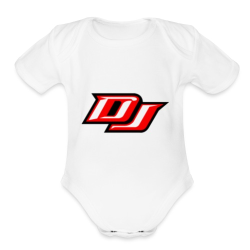 DJ Dang - Organic Short Sleeve Baby Bodysuit