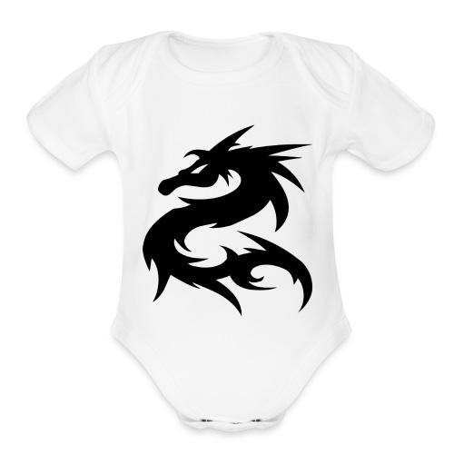 Dragon Nepal T-shirt - Organic Short Sleeve Baby Bodysuit