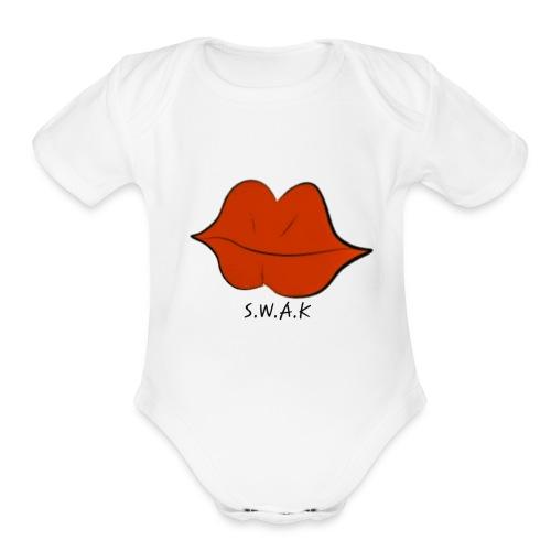 20180925 181125 - Organic Short Sleeve Baby Bodysuit