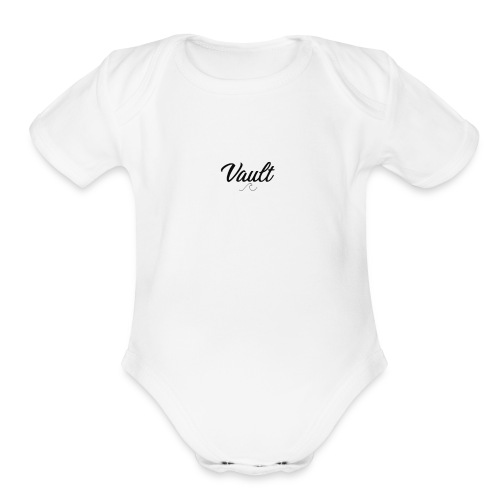 Waves - Organic Short Sleeve Baby Bodysuit