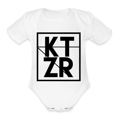 KTZR Logo - Organic Short Sleeve Baby Bodysuit