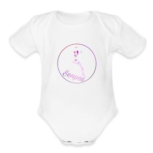 1513622851605 1 - Organic Short Sleeve Baby Bodysuit