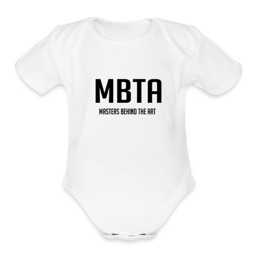 mbtapng - Organic Short Sleeve Baby Bodysuit