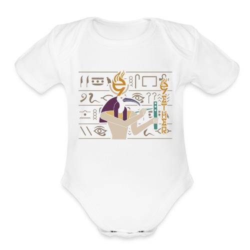9ETHER IT WAS WRITTEN - Organic Short Sleeve Baby Bodysuit
