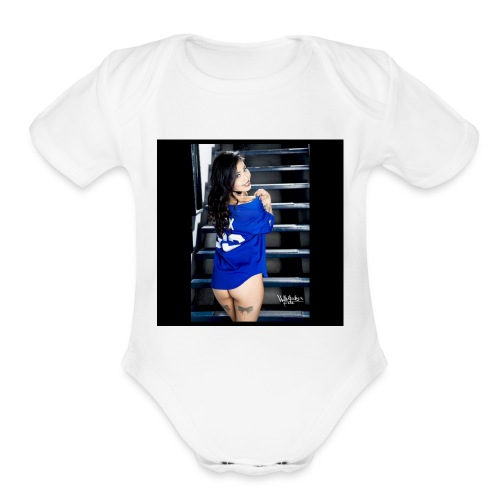 IMG_2395 - Organic Short Sleeve Baby Bodysuit