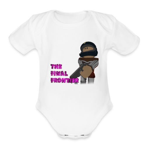 The Final Frontier - Organic Short Sleeve Baby Bodysuit