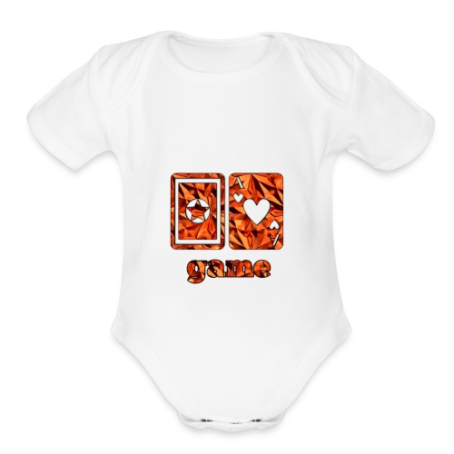 Gamexxe - Organic Short Sleeve Baby Bodysuit