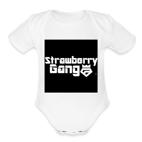Join the gang - Organic Short Sleeve Baby Bodysuit