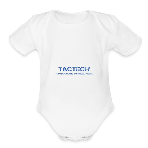 TacTech - Organic Short Sleeve Baby Bodysuit