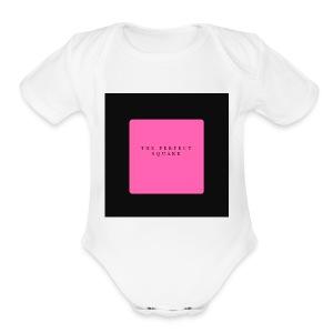 PLAIN JANE - Short Sleeve Baby Bodysuit