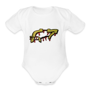 ST graffiti - Short Sleeve Baby Bodysuit