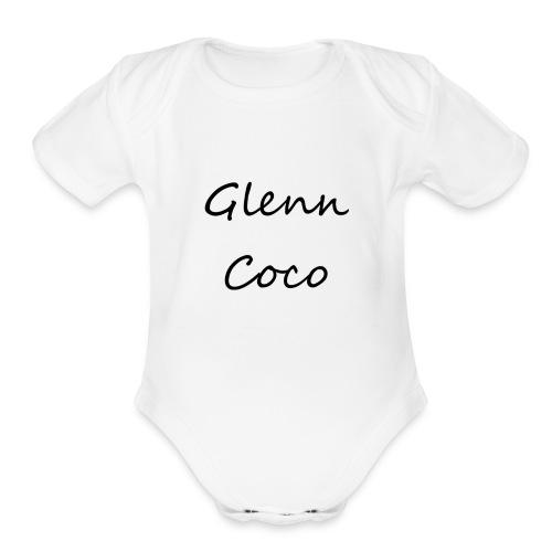 GlennCocoYT - Organic Short Sleeve Baby Bodysuit