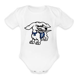 Frankfort HotDog - Short Sleeve Baby Bodysuit