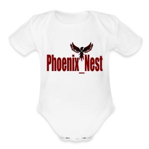 Phoenix Nest - Short Sleeve Baby Bodysuit