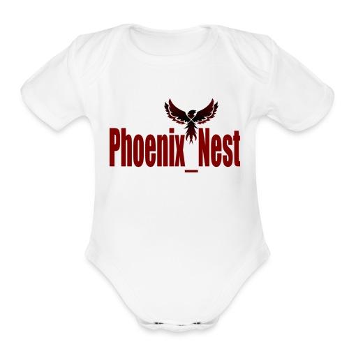Phoenix Nest - Organic Short Sleeve Baby Bodysuit