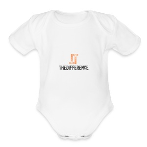 TheDifference01 - Short Sleeve Baby Bodysuit
