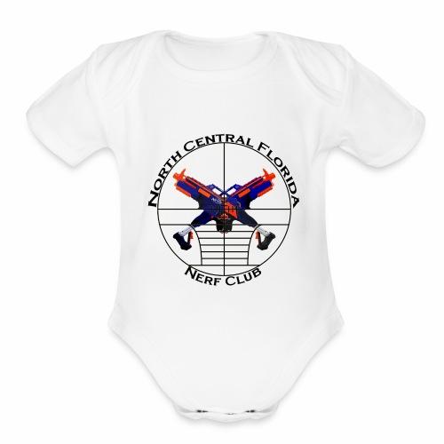 Ncfnc #2 - Organic Short Sleeve Baby Bodysuit
