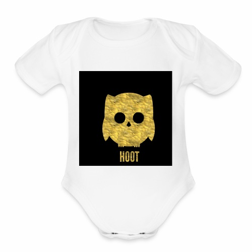 Hoot - Organic Short Sleeve Baby Bodysuit
