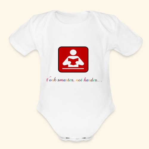 Education your life - Organic Short Sleeve Baby Bodysuit