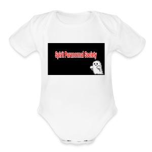 spirits parnormal society - Short Sleeve Baby Bodysuit