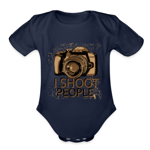 Photographer - Organic Short Sleeve Baby Bodysuit
