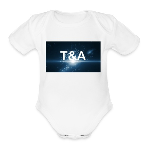 Official T&A merch - Organic Short Sleeve Baby Bodysuit