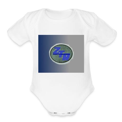 ZeroTechReview Merchandise - Organic Short Sleeve Baby Bodysuit