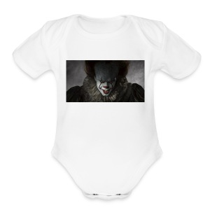 IT movie Pennywise tshirt - Short Sleeve Baby Bodysuit