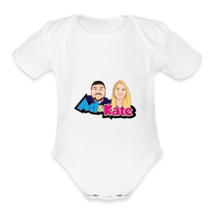 Ad and Kate - Short Sleeve Baby Bodysuit