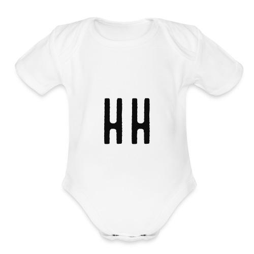 HH - Organic Short Sleeve Baby Bodysuit
