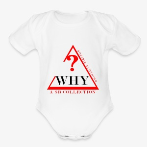 WHY SHIRT COLLECTION - Short Sleeve Baby Bodysuit