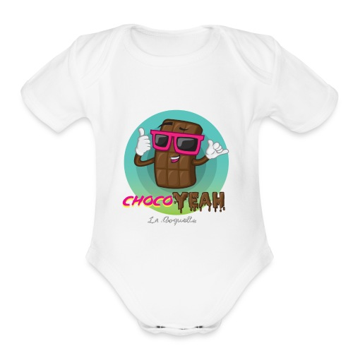 ChocoYEAH - Organic Short Sleeve Baby Bodysuit