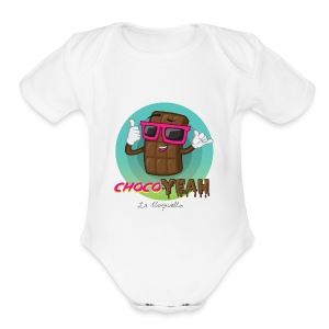 ChocoYEAH - Short Sleeve Baby Bodysuit
