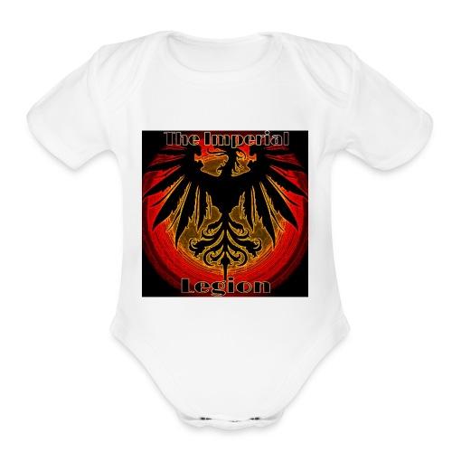 Til Logo - Organic Short Sleeve Baby Bodysuit