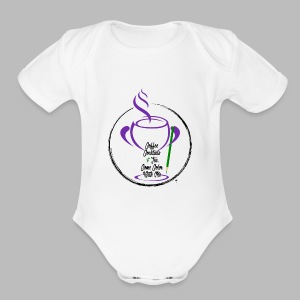 CCTCCWM Black Text - Short Sleeve Baby Bodysuit