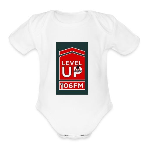 LEVEL UP shirt - Organic Short Sleeve Baby Bodysuit